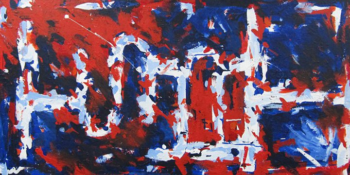 Susan Brasch, Balance Understood, acrylic on canvas, 1991