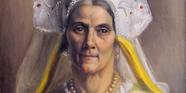 Zanna Anderson, Untitled (Russian immigrant, female), oil on canvas, n.d.