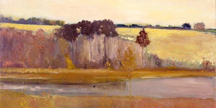 Stephen Dinsmore, Cheyenne, oil on canvas, 1992