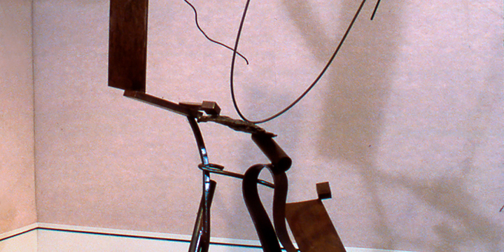 Michael Todd, Gorky's Garden I, steel, 1980
