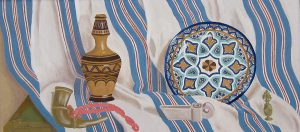 Parnelia Augustine, Moroccan Souvenirs, oil on canvas, n.d.