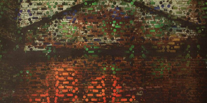 Larry Schulte, Brick House 5, color transfer print, c. 2002