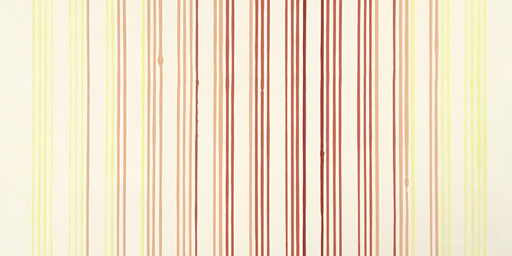 Larry Schulte, Untitled (linear pattern), acrylic on paper, n.d.