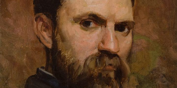 J. Laurie Wallace, Thomas Eakins, oil on linen