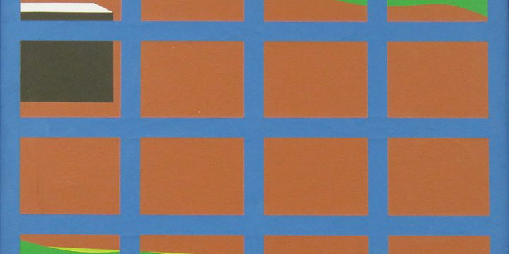 Peter Hill, Blue Field, acrylic on canvas, 1982