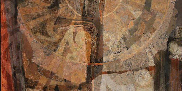 Kathleen Parks Adkison, Odyssey, collage, n.d.