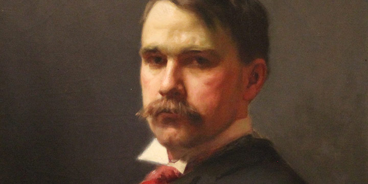 J. Laurie Wallace, Edward J. Snyder, oil on canvas, 1895-1896