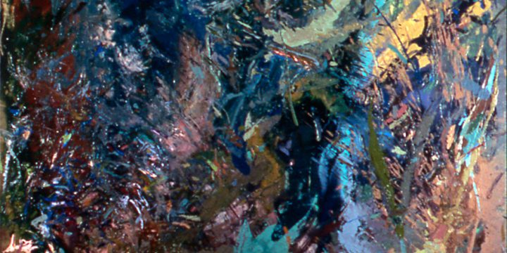 Douglas Martin, Impri Lue, acrylic on canvas, 1974-1975