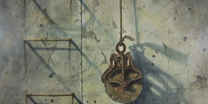 Don Dernovich, The Pulley, watercolor, n.d.