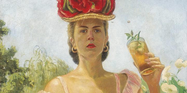 Mary Elizabeth Gifford, Summer, 1946 (self-portrait), oil on canvas