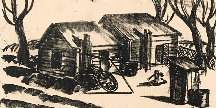 Katherine (Kady) Burnap Faulkner, Twins, plus, lithograph (7/25), 1934