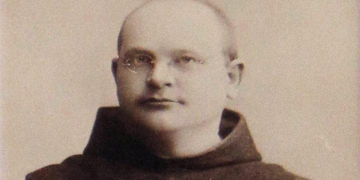 Frank A. Rinehart, Monk, cabinet card, n.d.