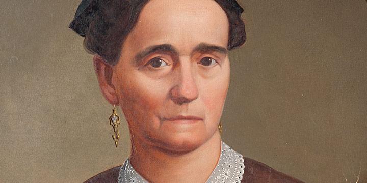 Otto Pauling, Portrait of Susan Bronnenberg Nelson, oil, 1875