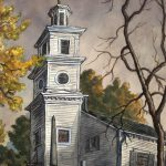 Grant Reynard, St. John's Church, watercolor, n.d.