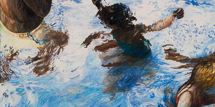 Gretchen Peters, Aletia's Summer, Prismacolor, c. 1983