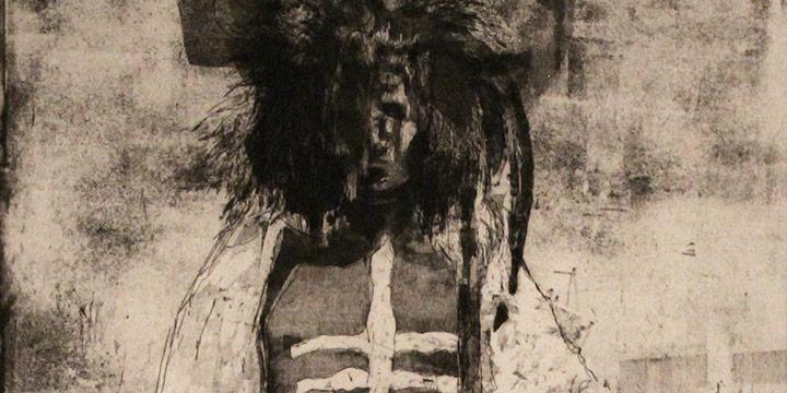 Jeanne Herron Richards, Medicine Man, intaglio (6/15), n.d.