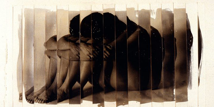 James M. May, Nude, Nude, black & white photograph, 1990