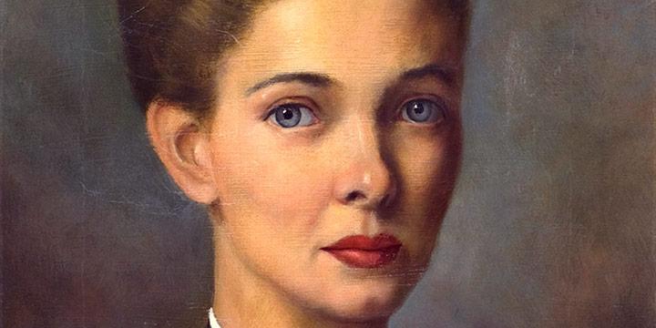 Leslie Larsson, Marie, oil over tempera on linen, 1946