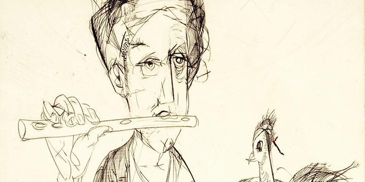 Rudy Pozzatti, Serenade, engraving (14/20), 1950