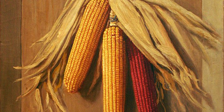 James Knox O'Neil, Still Life: Corn, oil on linen, 1921
