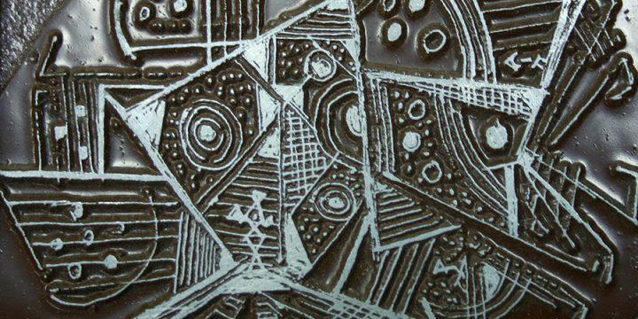 Norris Alfred, Whatzit, steel engraving plate, n.d.