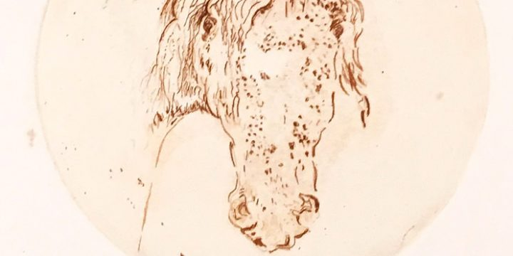 Jeanne Herron Richards, Red Pony, intaglio (2/5), n.d.