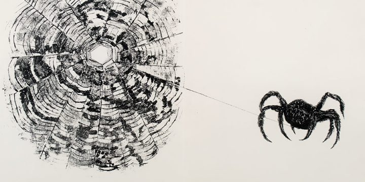 Rudy Pozzatti, The Spider from Bishop Theobald's Bestiary, lithograph, 1964