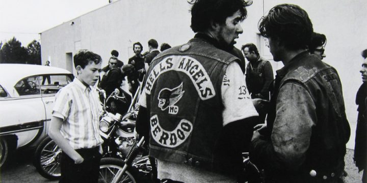 Bill Ray, Hells Angels, silver gelatin print, 1965