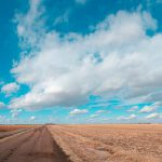 John Spence, Landscape Series: Butler County, Nebraska, March 3, 2012, silver halide color photograph, 2012