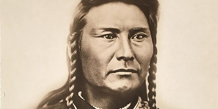 David Frances Barry, Chief Joseph, black & white photograph, n.d.
