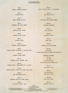 George Catlin, Catlin's North American Indian Portfolio, Contents Page, lithograph, c. 1844