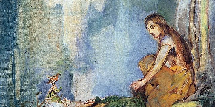 Elizabeth Honor Dolan, Enchanted Landscape, oil on canvas, n.d.