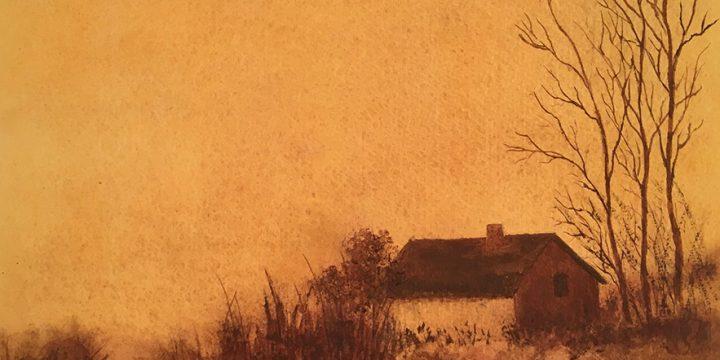 Charlotte E. Lantz, Early Morning, watercolor, n.d.