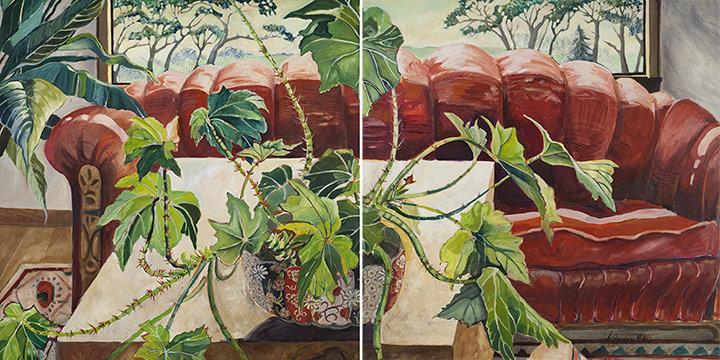 Linda Benton, 4:00 - The Nap, oil on canvas, 1982-1983