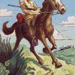Thomas Hart Benton, The Scout, gouache, ink, 1945