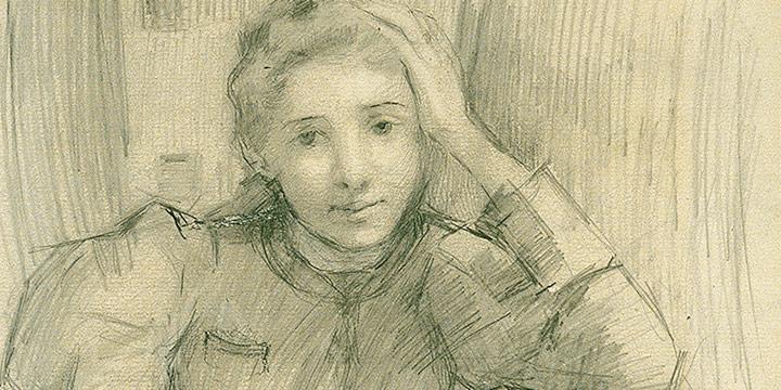 Alice Righter Edmiston, Dramatic Teacher, pencil, n.d.