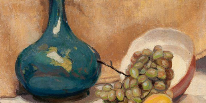 Robert James Dinning, Still Life, oil on canvas, n.d.