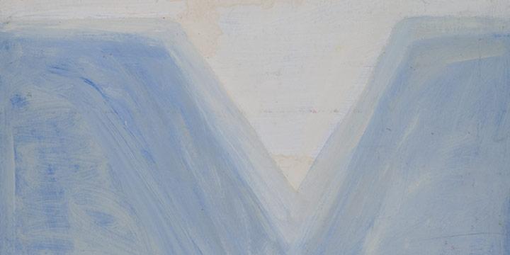 George Barker, Potrero Canyon - Study 3, oil, n.d.