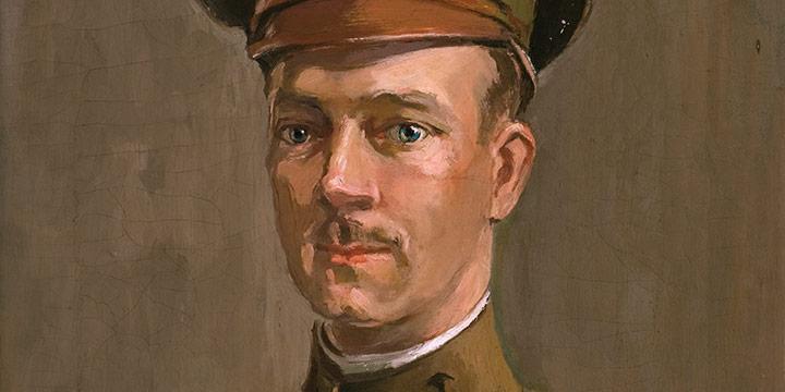 Elizabeth Honor Dolan, David Clark Hilton, oil on canvas, 1918