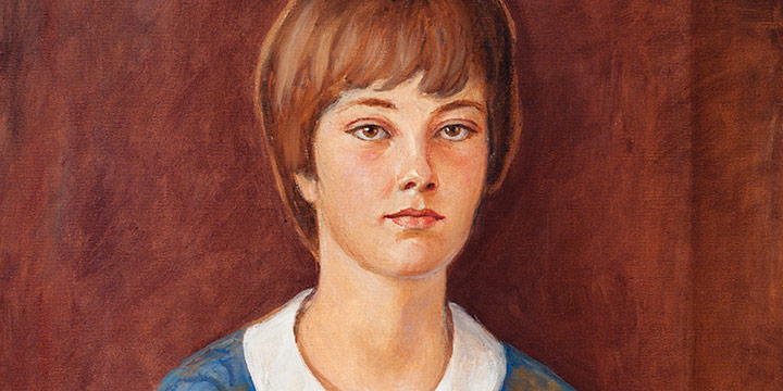 Paul Swan, Kay Anderson, daughter of Eleanor Anderson, oil on canvas, 1961