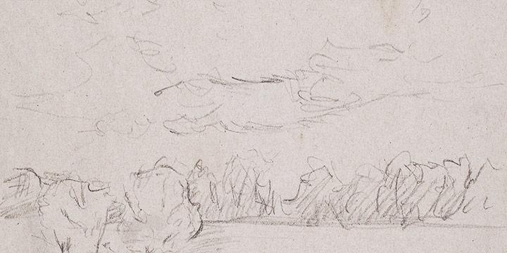 Enrique Martinez Celaya, The Nebraska Suite, No. 1, graphite on paper, 2010