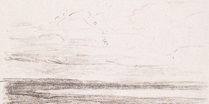 Enrique Martinez Celaya, The Nebraska Suite, No. 2, graphite on paper, 2010