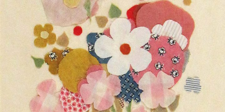 Eulabee Dix, Untitled (fabric bouquet), collage - fabric, c. 1940