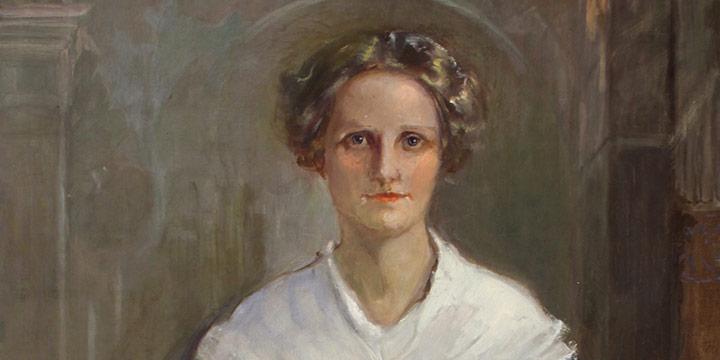 "Elizabeth Honor Dolan, Sarah L. Hilton, oil on canvas, 1916, 64 × 32"""