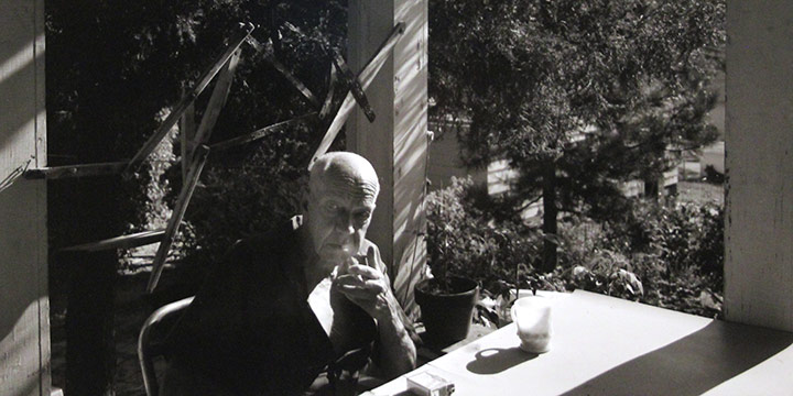 "Larry S. Ferguson, Leonard Thiessen, black and white photograph, 1980, 11 × 14"""
