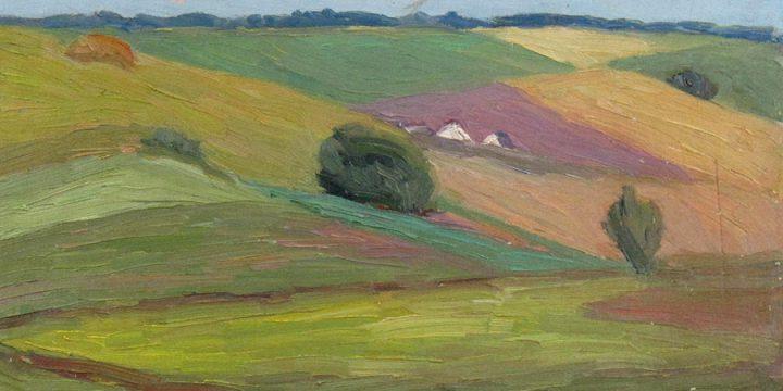 Robert F. Gilder, Untitled, oil on canvas, n.d.
