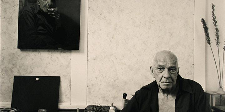 Larry Ferguson, Leonard Thiessen, black & white photograph, 1980