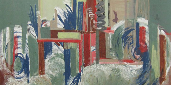 Carl Brummage, Untitled (abstract), acrylic, n.d.