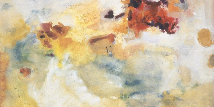 Carol Haerer, Untitled, watercolor, 1954