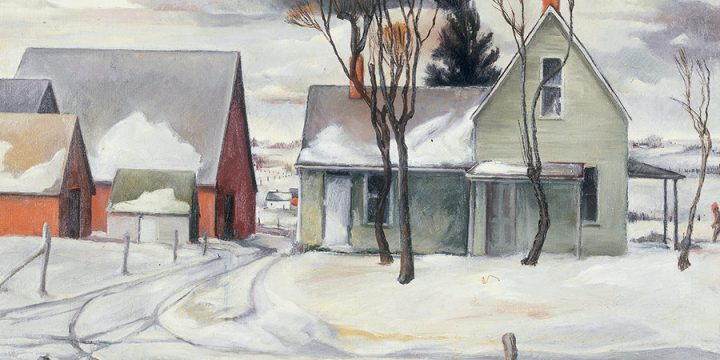 Gladys Lux, March 1940, oil on canvas, 1940